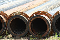 Old rusty metal pipe Royalty Free Stock Photography