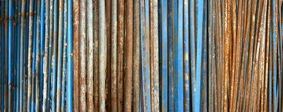 Old rusty metal pipes Royalty Free Stock Photos