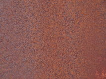 Old rusty metal plate Royalty Free Stock Photos