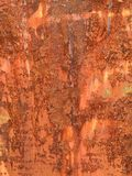 Rusty metal plates Royalty Free Stock Image