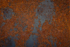 Old rusty metal plate texture Stock Image