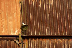 Old Rusty Metal Shed Lamp Stock Photos