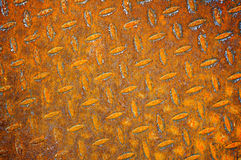 Old rusty metal sheet Stock Photography