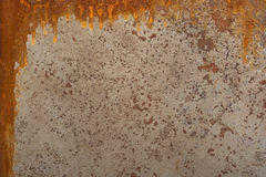 Old rusty metal sheet Stock Images