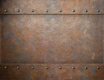 Old rusty metal steam punk background. Old rusty steam punk metal background royalty free stock images