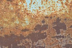 Old rusty metal surface Royalty Free Stock Photo