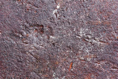 Old rusty metal texture with potholes Stock Photos