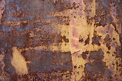 Old rusty metallic background Stock Photography