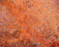 Old rusty metallic background. Stock Photo