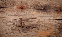 Old rusty nail Stock Photography