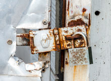 Old Rusty Padlock Royalty Free Stock Images