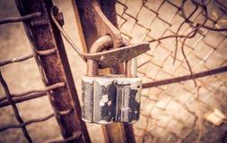 Old rusty padlock Royalty Free Stock Photography