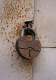 Old rusty Padlock Royalty Free Stock Photography