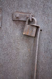Old rusty padlock. Royalty Free Stock Photo