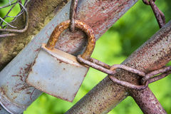 Old rusty padlock Royalty Free Stock Photo
