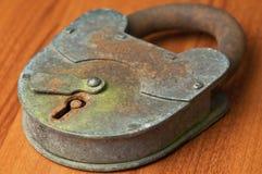 Old rusty padlock Royalty Free Stock Photos