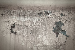 Old rusty paint crack metal plate texture background Royalty Free Stock Images