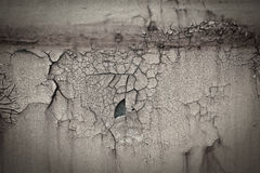 Old rusty paint crack metal plate texture background. Old rusty scars paint crack metal plate texture background Royalty Free Stock Images