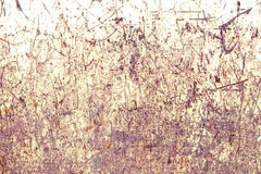 Old rusty painted metal background Stock Photography