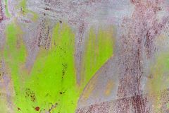 Old rusty painted metal background texture plate. stock photography