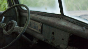 Abandoned, old rusty pickup truck.  Royalty Free Stock Photography