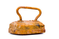 Old rusty pig-iron iron Stock Image