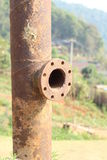 Old rusty pipe Stock Photography
