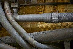 Old Rusty Pipes Royalty Free Stock Image
