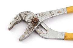 Old rusty pliers Royalty Free Stock Photo