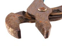Old rusty pliers. Stock Image