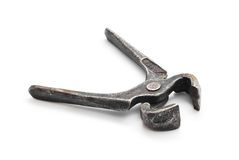 Old rusty pliers Royalty Free Stock Image
