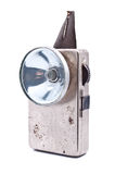 Old rusty pocket flashlight Royalty Free Stock Photos