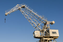 Old port crane Stock Image