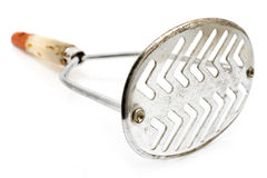 Old rusty potato masher Royalty Free Stock Images