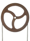 Old rusty pulley Royalty Free Stock Image