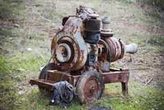 Old rusty pump Royalty Free Stock Photos