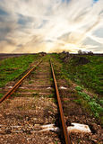 Old rusty rails Royalty Free Stock Photography