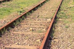 Old rusty Railway Royalty Free Stock Photos
