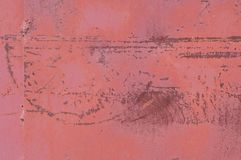 Old rusty red metal background royalty free stock photography