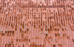 Old rusty red metal roof Royalty Free Stock Photography