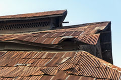 Old rusty roof Stock Image