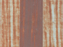Old rusty roof Royalty Free Stock Images