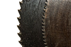 Old rusty saw blade Royalty Free Stock Photography