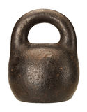 Old rusty scale weight Stock Photos