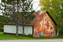 Old rusty shed Royalty Free Stock Images