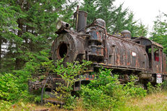 Old rusty steam locomotive Royalty Free Stock Photos