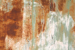 Old rusty steel Stock Images