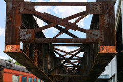 Old Rusty Steel Girder Royalty Free Stock Image