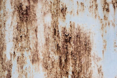 Old and rusty steel plate Royalty Free Stock Photography
