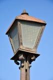Old rusty street light Royalty Free Stock Image